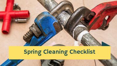 spring plumbing maintenace